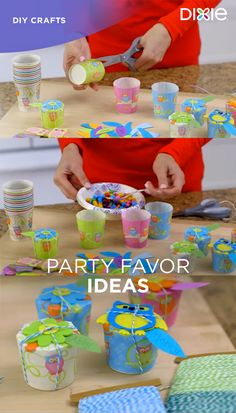 Hosting a birthday, a graduation or another special event? Turn Dixie® all-purpose cups into personalized place settings that double as party favors. Visit dixie.com for more fun and festive DIY party ideas.
