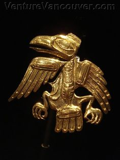 Bill Reid gold brooch