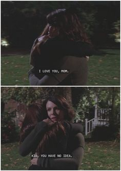 "CanNOT watch this scene without crying - Gilmore Girls ""The Prodigal Daughter Returns"""