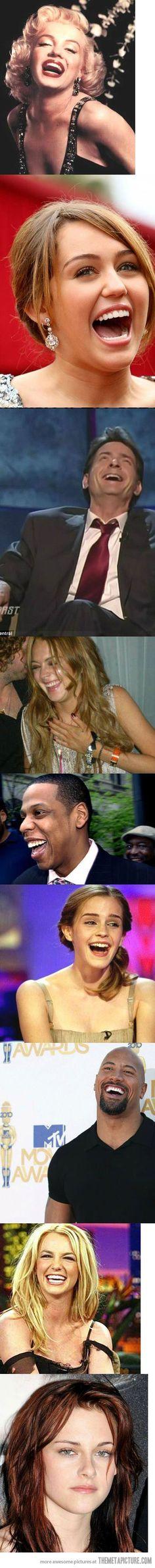 How famous celebrities laugh… LOL =D