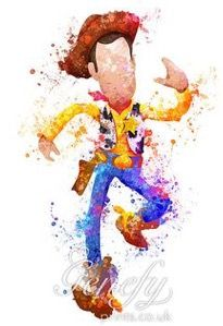 Woody watercolor