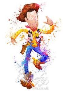 Woody watercolor