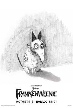frankenweenie exclusive lg See Two Creatures From Tim Burtons Frankenweenie In New Clips; Sketchy IMAX Poster!