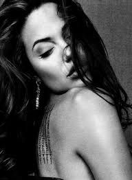 Image result for sexy Angelina jolie black & white