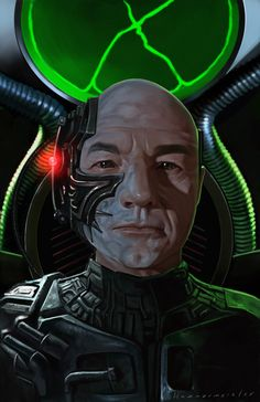 Locutus of Borg by markdraws.deviantart.com on @deviantART
