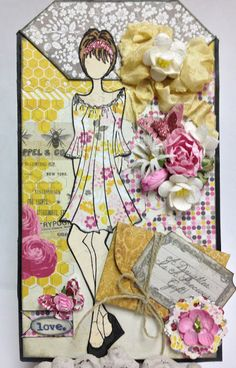 Prima Doll Pocket!  Made By Cher Smith http://scrapsremembered.blogspot.com