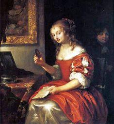 It's About Time: Women attributed to Caspar Netscher c 1635-1684