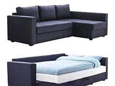 manstad sectional sofa bed u0026 storage from ikea - Sleeper Sectional Sofa