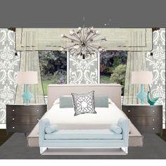 Rebecca Robeson; Interior Designer. robesondesign.com robesondesign on youtube. She has the best bedroom designs ever!!!!