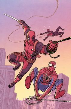 Spiderman Deadpool Vol.1 #3 Cover By: Cliff Chiang
