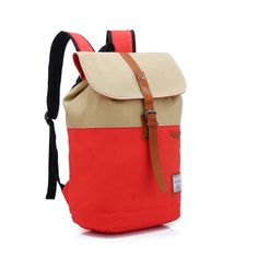 096fa03ab448 Fashion Contrast Color Canvas Backpack Computer Bag Buy Bags