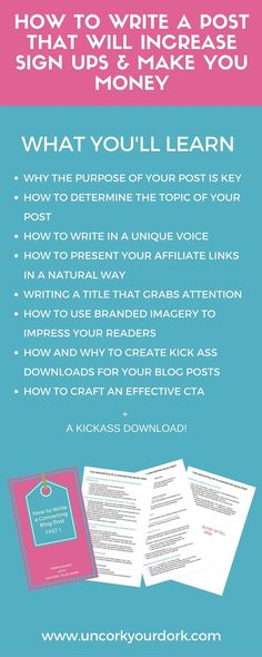 The newest post on the blog is pretty darn epic If I say so myself!! Check out how I write posts that convert not only for sign ups but for sales as well!!! Learn everything above...PLUS get the free cheat sheet to refer back to later!