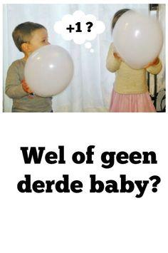 Twijfel over de zwangerschap / komst van een derde baby? - Mamaliefde.nl: