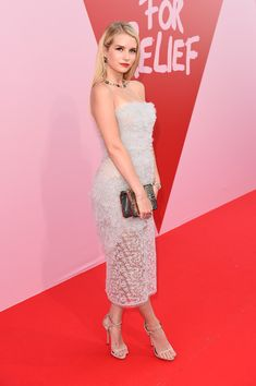 Lottie Moss attends the Fashion for Relief event during the 70th annual Cannes Film Festival.