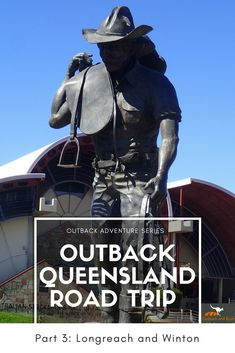 OUTBACK ADVENTURE: PART 3 - Longreach and Winton  A region that brought us QANTAS, Banjo Paterson's Waltzing Matilda (Australia's unofficial national anthem) and home of Australia's Stockmans Hall Of Fame.   Make sure you have plenty of time free as there is no shortage of things to do!