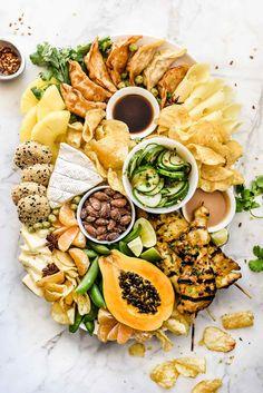 How to Make an Asian-Inspired Cheese Board / foodiecrush.com #cheeseboard #cheeseplate #asian #thai