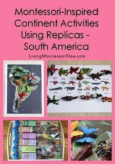 Montessori-Inspired Continent Activities Using Replicas – South America