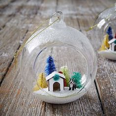 Dog House Cloche Ornament #westelm