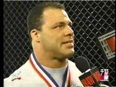 WWF RAW Kurt Angle's Funny Backstage Interview With Michael Cole