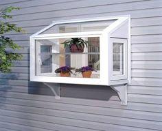 Mini Bay Window Kitchen Sink