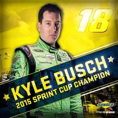 He's known by a lot of nicknames. Today Kyle earned a new one: Champion.