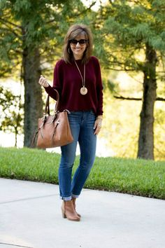 Looking for that perfect sweater that can go with just about any outfit this fall? Pair it with jeans and boots, or dress it up with a pair of nice slacks.