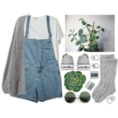 Succulent, created by child-of-the-tropics on Polyvore