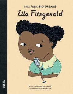 """Ella Fitzgerald war als Kind auf sich allein gestellt, hatte aber immer den Traum, Sängerin zu werden. Sie sang Swing, Blues, Gospel und Soul und erfand den Scat - eine Improvisation, bei der die Stimme zum Instrument wird. Ella wurde zu einer der größten Jazzsängerinnen, weil sie wusste: """"Nicht woher du kommst, ist wichtig, sondern wohin du gehst.""""  Jede dieser Frauen hat Unvorstellbares erreicht. Dabei begann alles, als sie noch klein waren: mit großen Träumen. Ella Fitzgerald, Marie Curie, Amelia Earhart, Louis Armstrong, Blues Rock, Little People, Little Ones, Agatha Christie, Dream Big"""