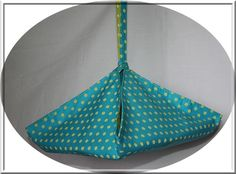 Sac à tarte ou à gâteau réversible en tissu : Autres sacs par izabelle