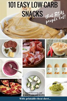 Find out how real people survive on a keto diet with our HUGE list of 101 low-carb snacks. From the weird to the wonderful, we've found something for everyone. Download the FREE printable cheat sheet. Low-carb diet snacks | ketogenic diet snacks| easy keto snacks | #LowCarbDietSnacks #KetoSnacks #WeightlossSnacks