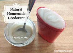 natural-homemade-deodorant Homemade Deodorant 1-1/3 cups extra virgin coconut oil 1-1/2 tablespoons beeswax shavings or beads (increase if you live in a warmer climate) 1/4 cup baking soda 3/4 cup arrowroot powder 2 tablespoons clay (such as Redmond Clay's Bentonite) 25 drops tea tree essential oil 5 drops lemongrass essential oil