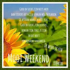 Mooi weekend...