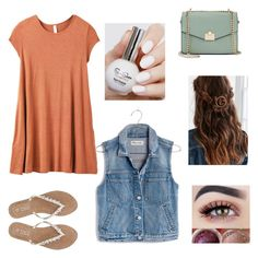 """""""Lunch date"""" by zac124 on Polyvore featuring RVCA, Madewell, M&Co, Jennifer Lopez and Urban Outfitters"""