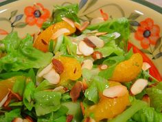 Almost Magic Pan Orange Almond Salad