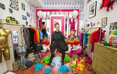 Local designer Miranda Caroligne makes incredible reconstructed one of a kind clothes out of cool vintage pieces. Her shop is a crazy little wonderland in the Mission. Be unique - go independent! By appointment. 540 alabama st @ mariposa  suite #210