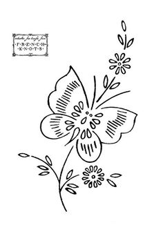 Embroidery Designs Patterns embroidered butterfly patterns - Butterflies are really free when it comes to embroidery patterns. Hand Embroidery Patterns Free, Embroidery Flowers Pattern, Butterfly Embroidery, Embroidery Transfers, Learn Embroidery, Silk Ribbon Embroidery, Embroidery Applique, Embroidery Stitches, Machine Embroidery