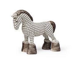 Hermy Cheval Pixel Hermes Rocking Horse In Taupe Quot Cheval