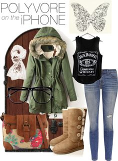 """on green ..."" by inerufaidah on Polyvore"