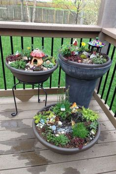 15 Creative DIY Plants Fairy Garden Ideas #diy #diyhomedecor #diycrafts #diygardening #fairygardening