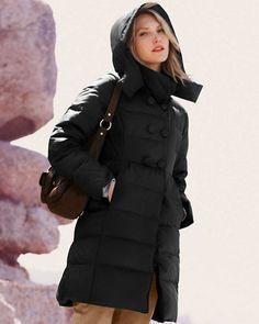 Fashion Down Jacket | Fashion Down Jacket | Pinterest | Mid length ...