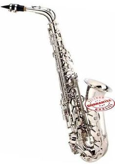 Student Alto Saxophone Nickel with Case
