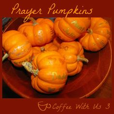 Coffee With Us 3: Prayer Pumpkins