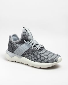 Naked - Supplying girls with sneakers - Tubular Runner Prime Knit Grey | NAKED