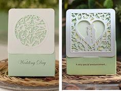 Il trasporto libero 50 pz/lotto verde seires tema del merletto uccelli/coppia opzione di stile contenitore di caramella di favore di cerimonia nuziale