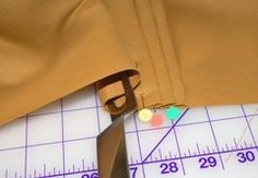 Tutorial: Use a fork to make perfect pleats · Sewing | CraftGossip.com forks, craftgossipcom, crafti, cloth, perfect pleat, meat fork, brilliant, clever, diy