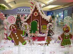 A Merry Christmas Santa Postcard Christmas Parade Floats, Candy Land Christmas, Merry Christmas Santa, Christmas Baskets, Christmas Minis, All Things Christmas, Christmas Bulbs, Christmas Crafts, Christmas Displays