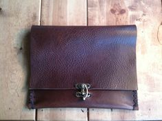 iPad case | clutch | document holder| handmade bridle leather |  iPad cases/covers/sleeves | Aixa Sobin