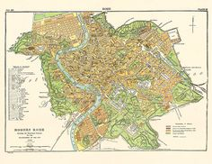 old map of Rome, printable digital map, this is a good source for vintage images and maps.