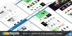 Stepre v1.0 is a gorgeous, thoughtfully designed, modern and touch-friendly magento theme. It is a multipurpose magento template : support from digital store to fashion shop, accessories store, everything. Stepre is a great solution for all possible digital shopping website needs.  Stepre v1.0...