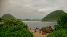 Goa Cina Beach, Malang, East Java